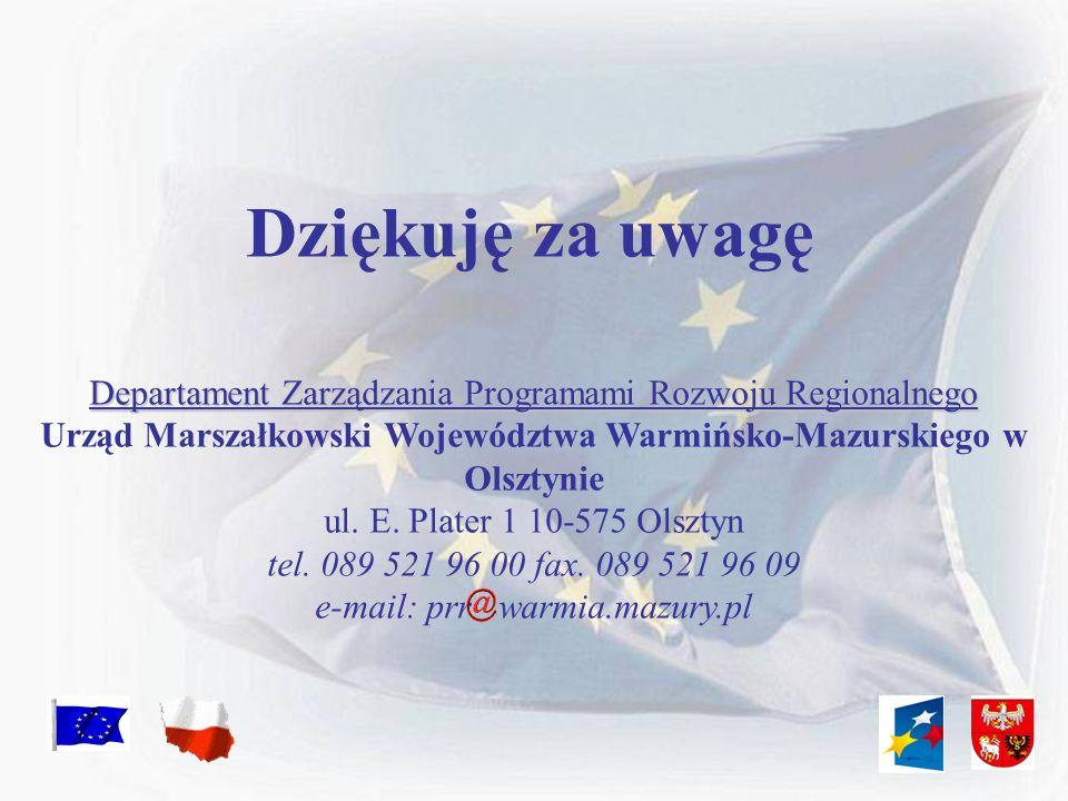 Urząd Marszałkowski Województwa Warmińsko-Mazurskiego w Olsztynie