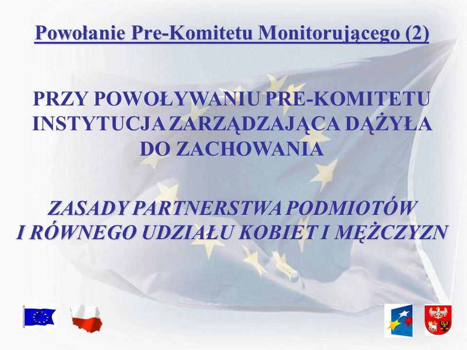 Powołanie Pre-Komitetu Monitorującego (2)