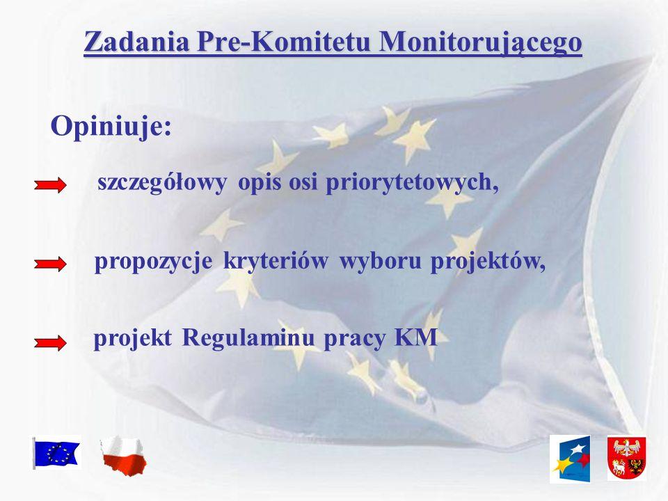 Zadania Pre-Komitetu Monitorującego