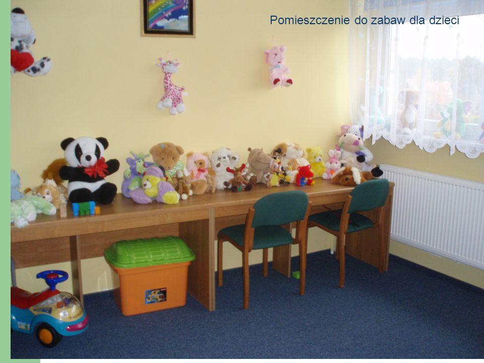 Pomieszczenie do zabaw dla dzieci