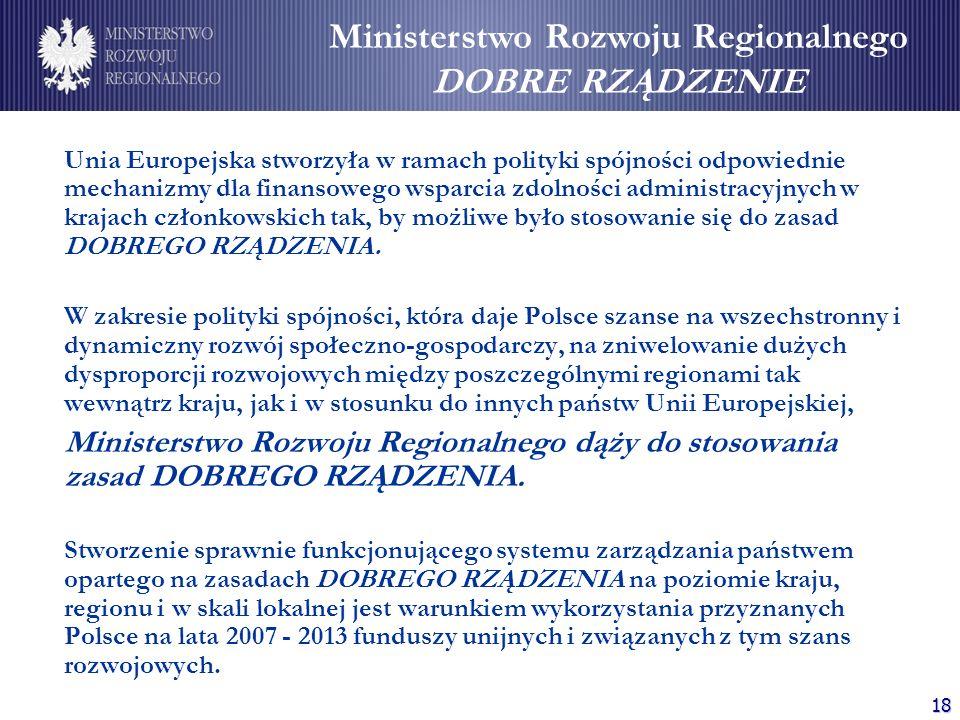Ministerstwo Rozwoju Regionalnego