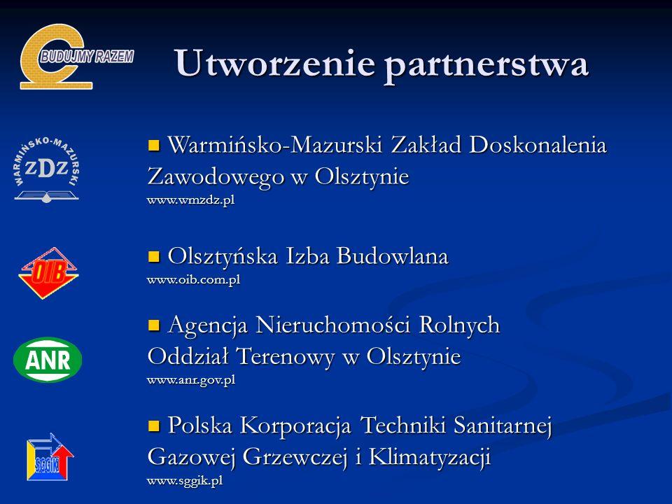 Utworzenie partnerstwa