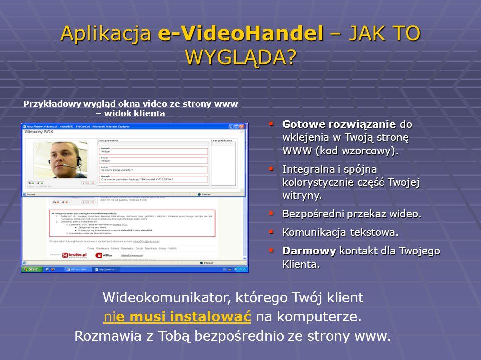 Aplikacja e-VideoHandel – JAK TO WYGLĄDA