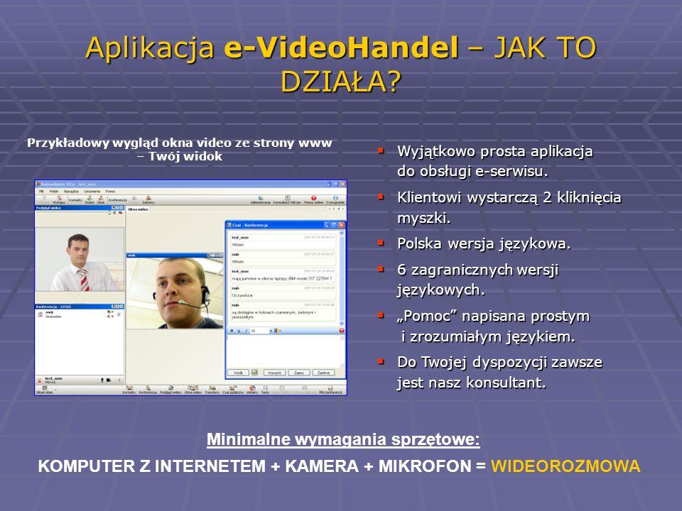 Aplikacja e-VideoHandel – JAK TO DZIAŁA