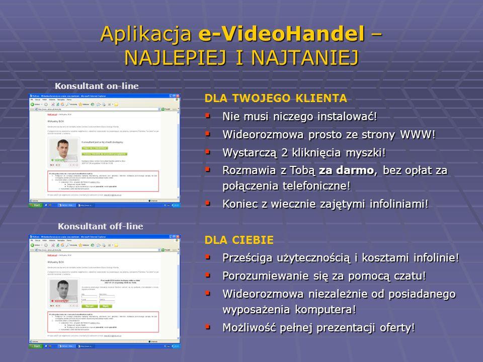 Aplikacja e-VideoHandel – NAJLEPIEJ I NAJTANIEJ