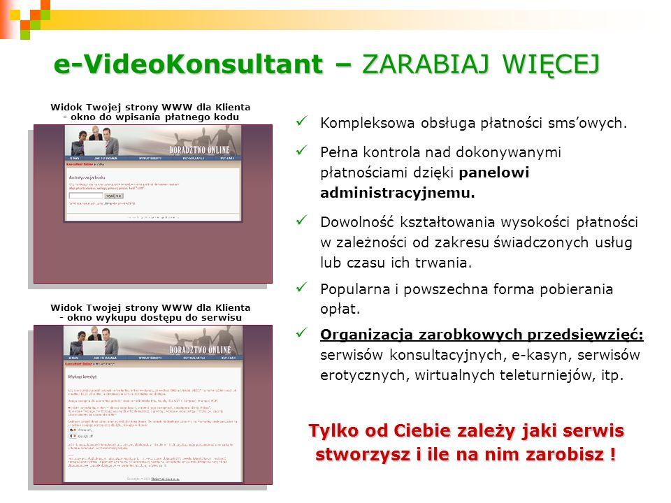 e-VideoKonsultant – ZARABIAJ WIĘCEJ