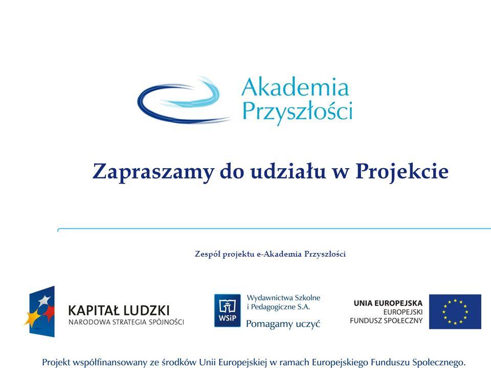 Zapraszamy do udziału w Projekcie
