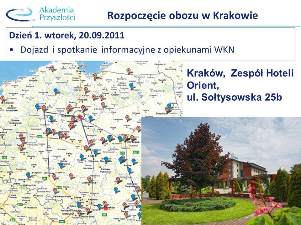 Rozpoczęcie obozu w Krakowie