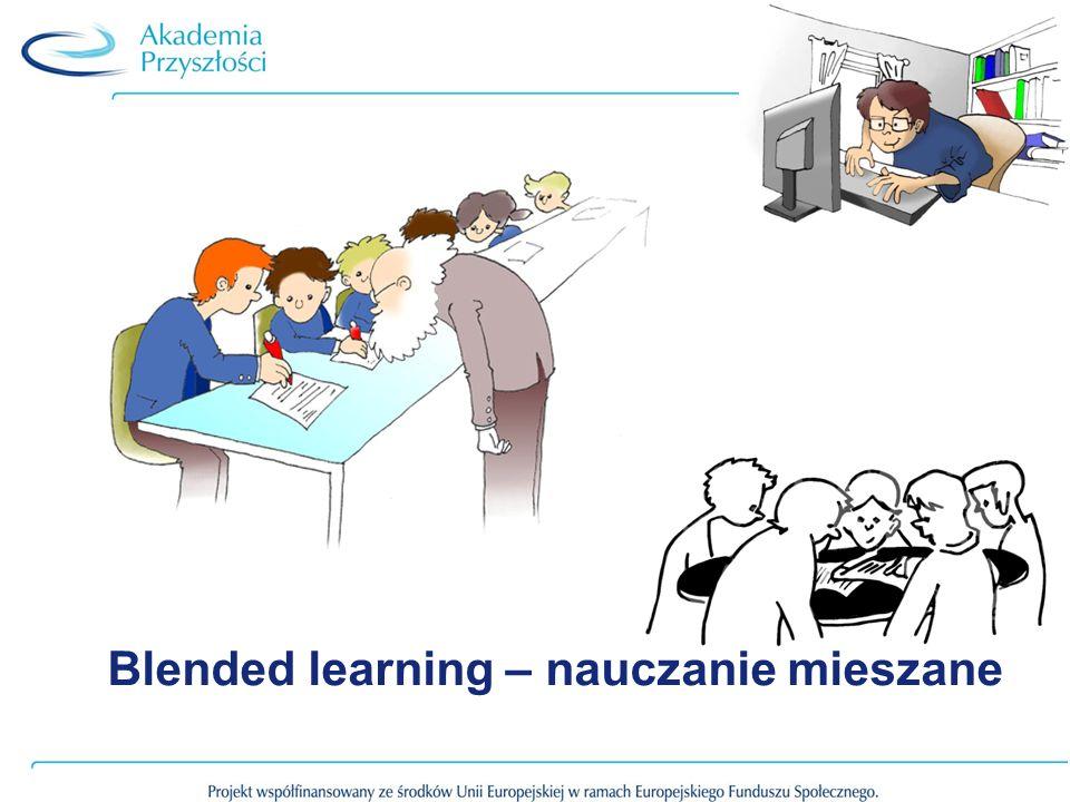 Blended learning – nauczanie mieszane