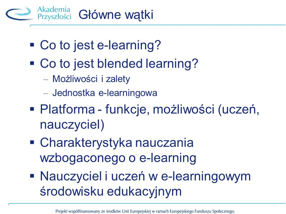 Co to jest blended learning