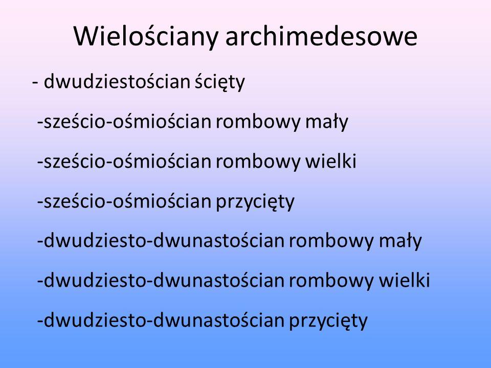 Wielościany archimedesowe