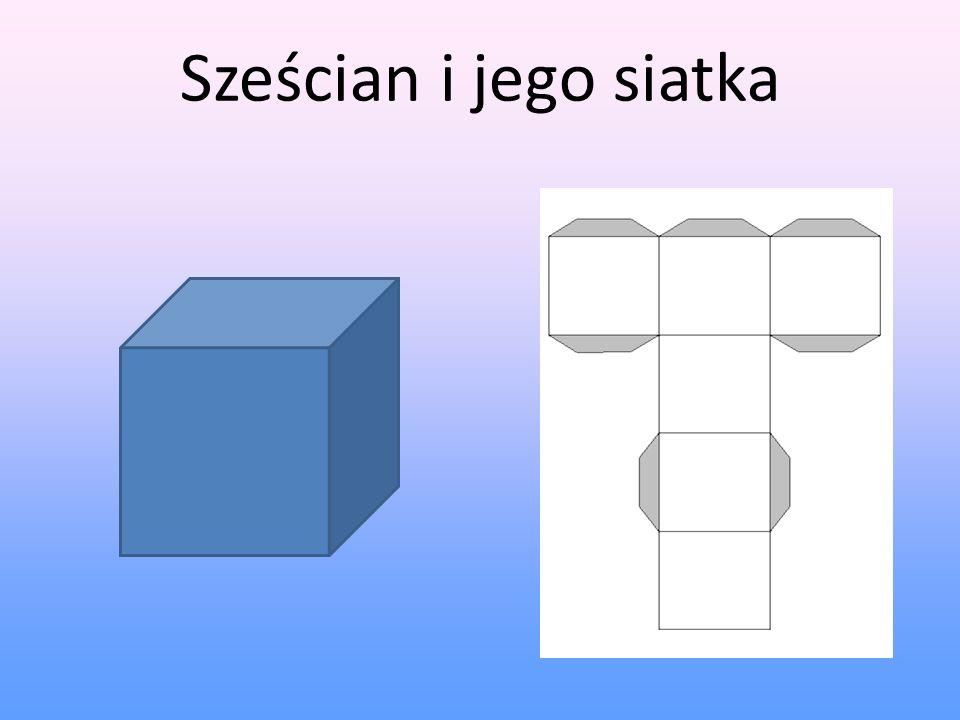 Sześcian i jego siatka 7