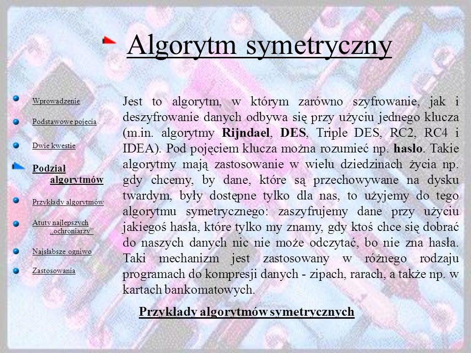 Algorytm symetryczny