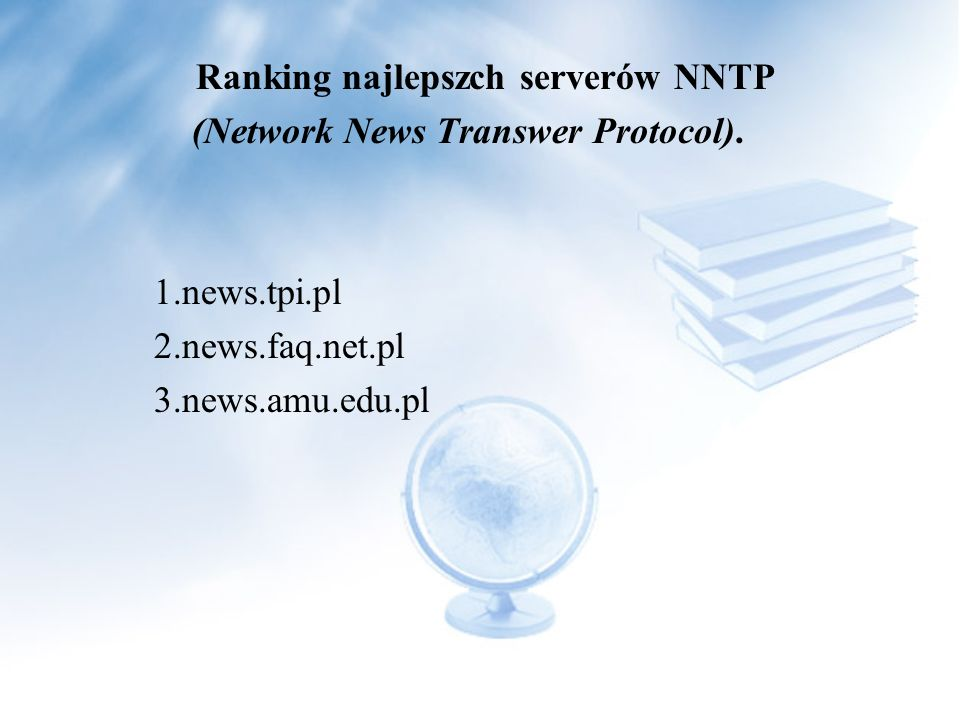 (Network News Transwer Protocol).