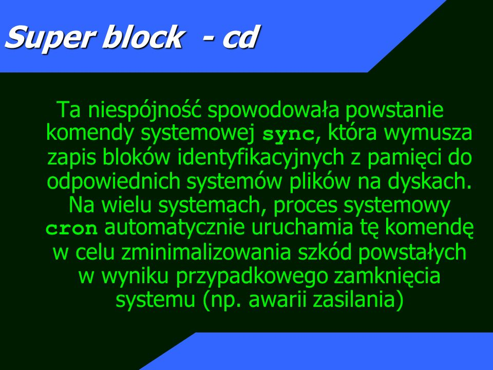 Super block - cd