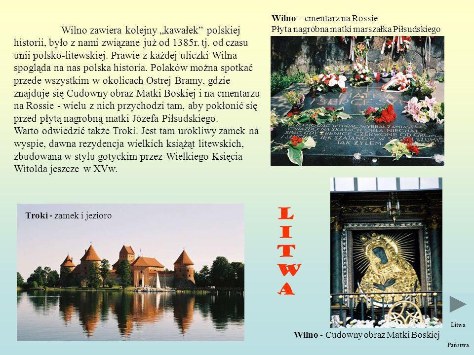Wilno – cmentarz na Rossie