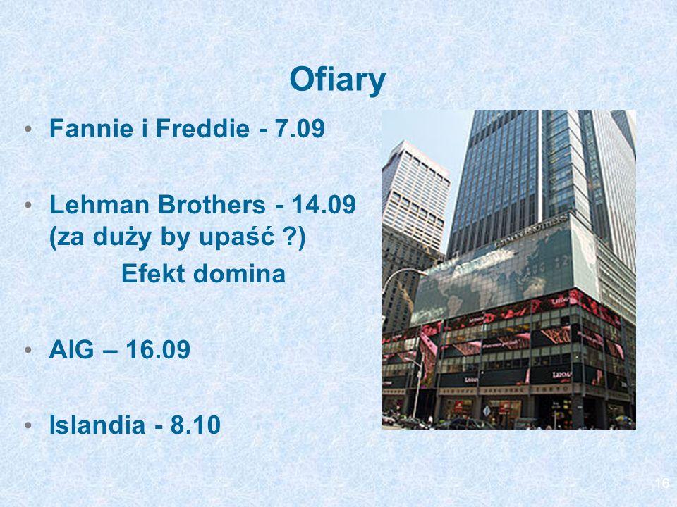 Ofiary Fannie i Freddie - 7.09