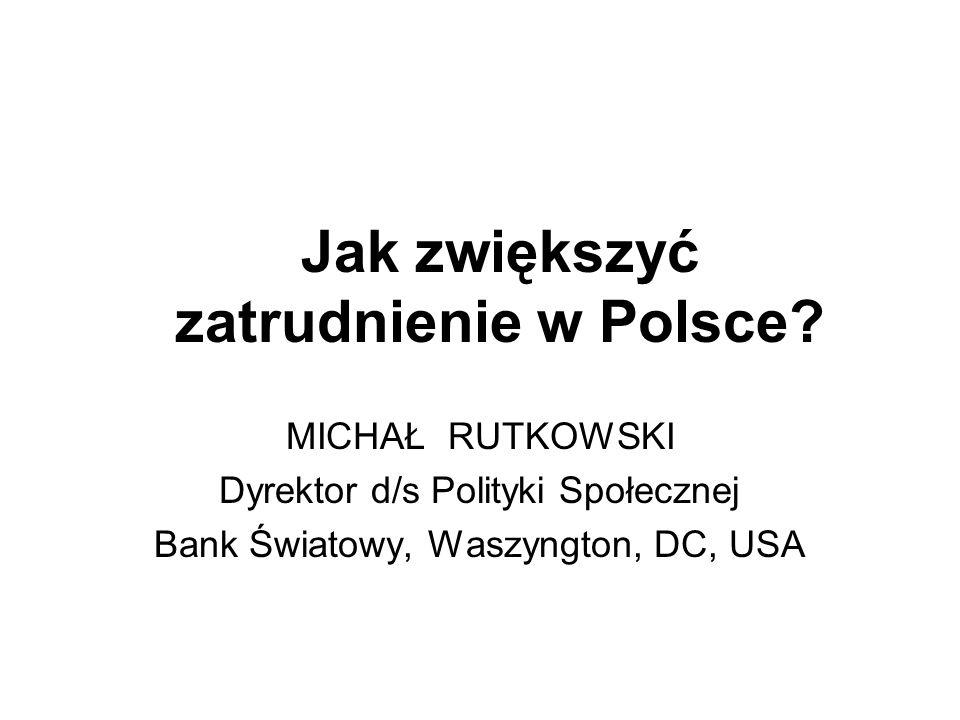 Jak zwiększyć zatrudnienie w Polsce