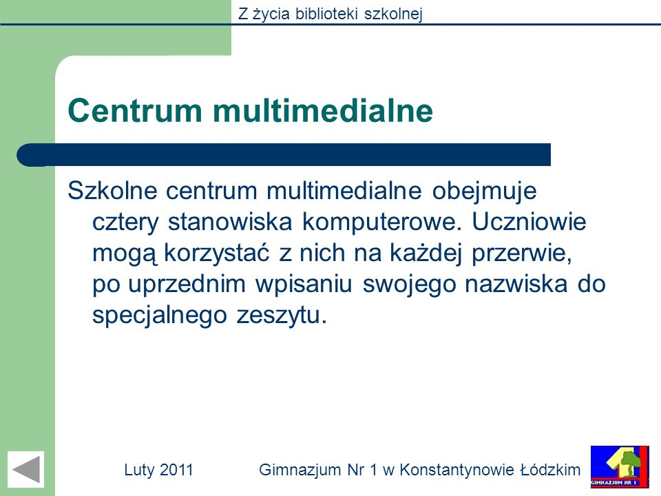 Centrum multimedialne