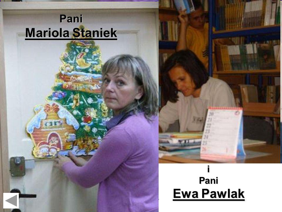 Szkolna biblioteka Pani Mariola Staniek