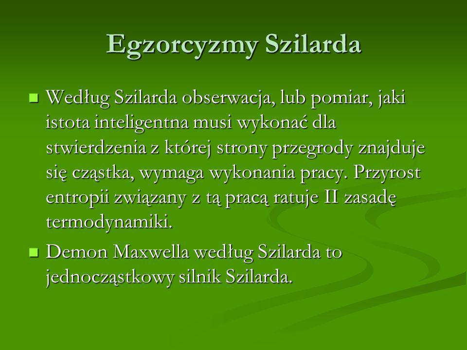 Egzorcyzmy Szilarda
