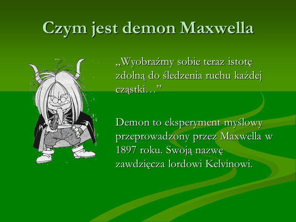 Czym jest demon Maxwella