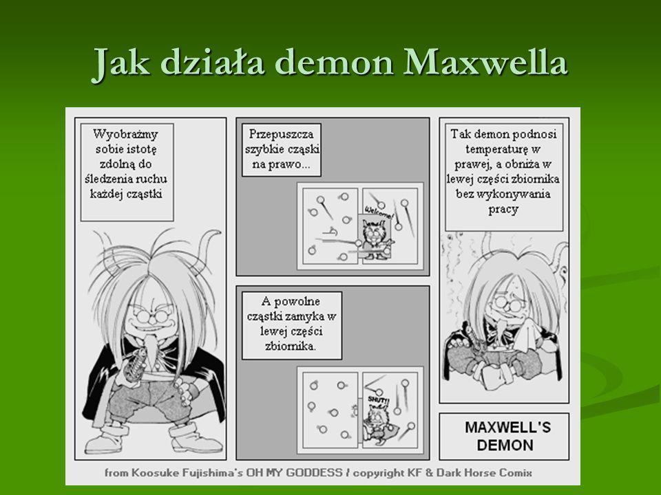 Jak działa demon Maxwella