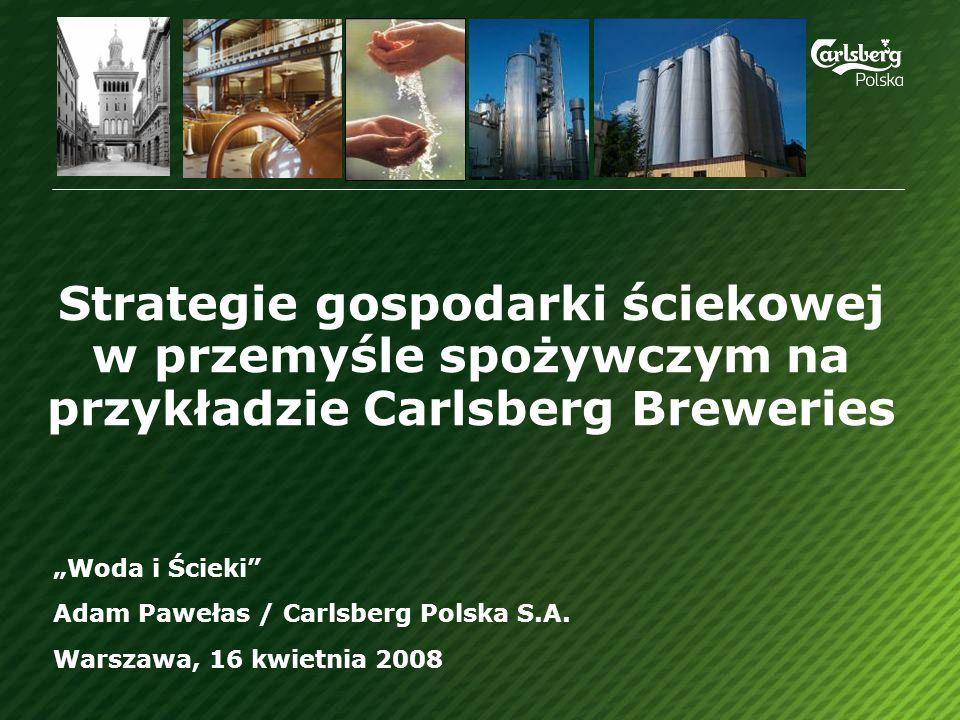 Strategie gospodarki ściekowej w przemyśle spożywczym na przykładzie Carlsberg Breweries