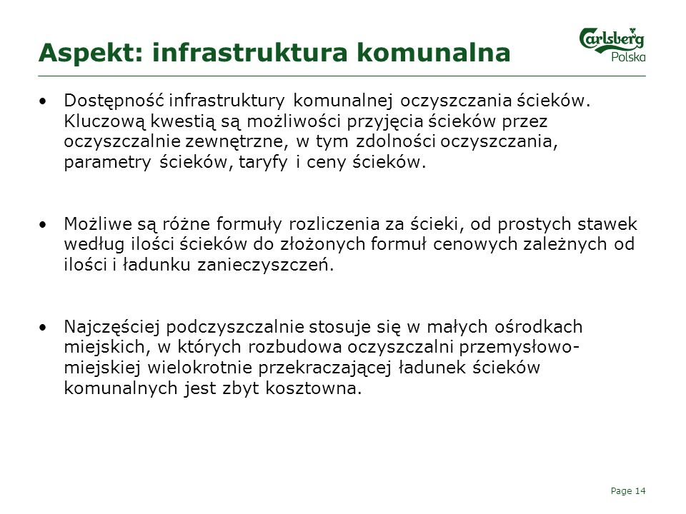 Aspekt: infrastruktura komunalna