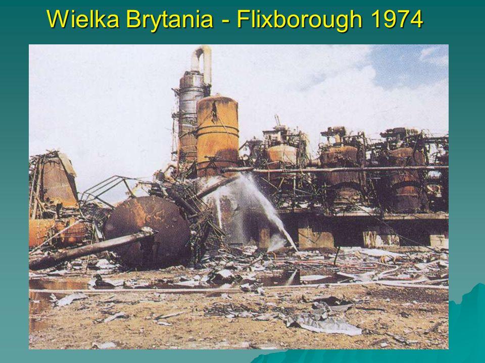 Wielka Brytania - Flixborough 1974