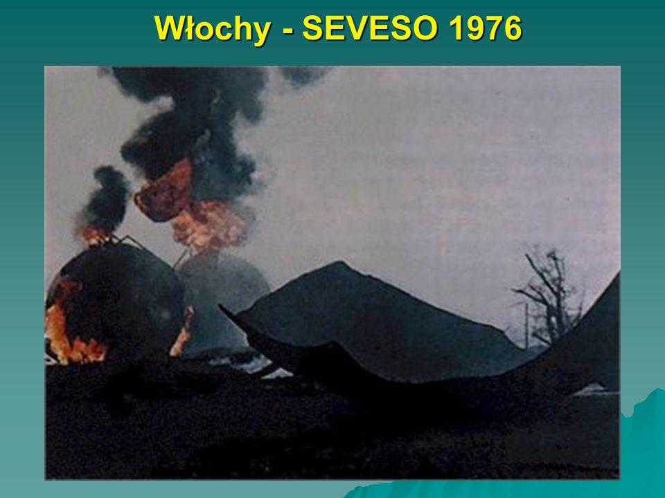 Włochy - SEVESO 1976