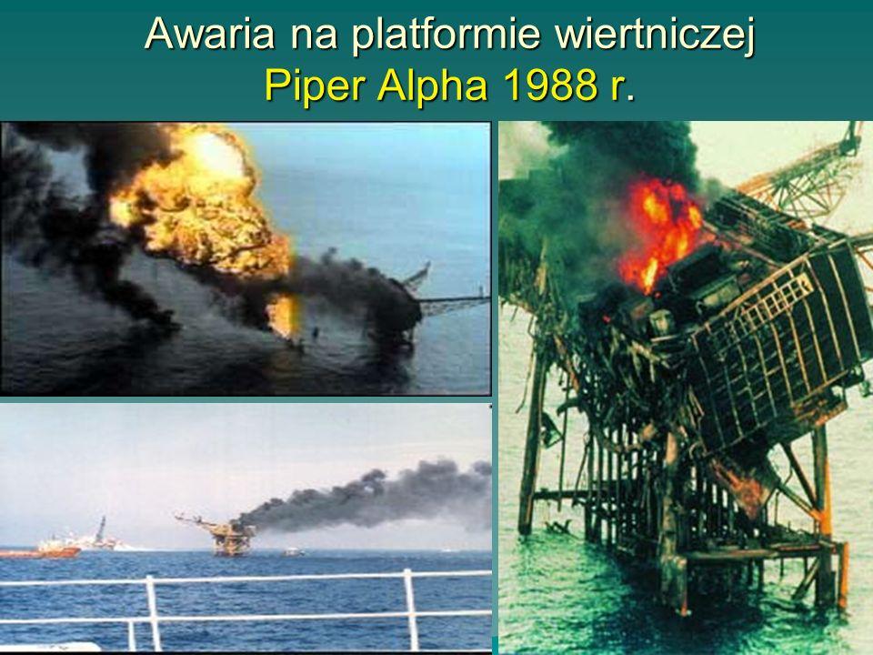 Awaria na platformie wiertniczej Piper Alpha 1988 r.
