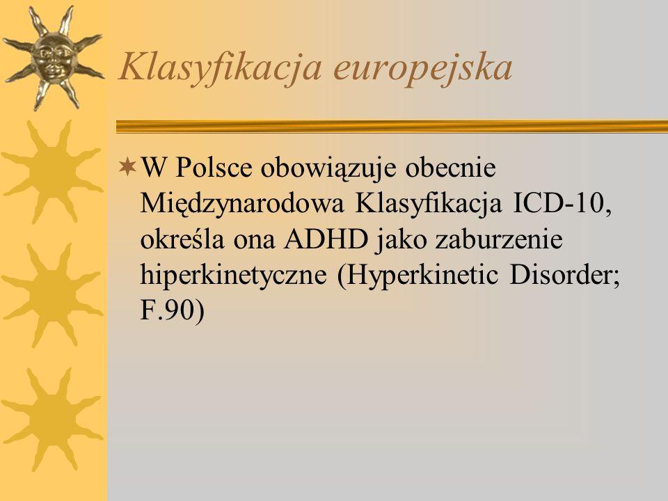 Klasyfikacja europejska