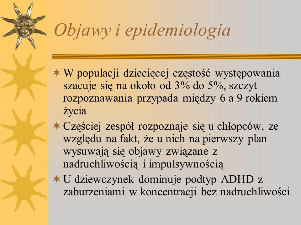Objawy i epidemiologia