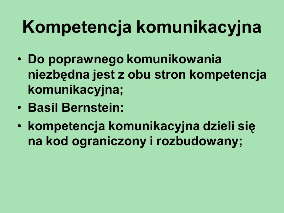 Kompetencja komunikacyjna