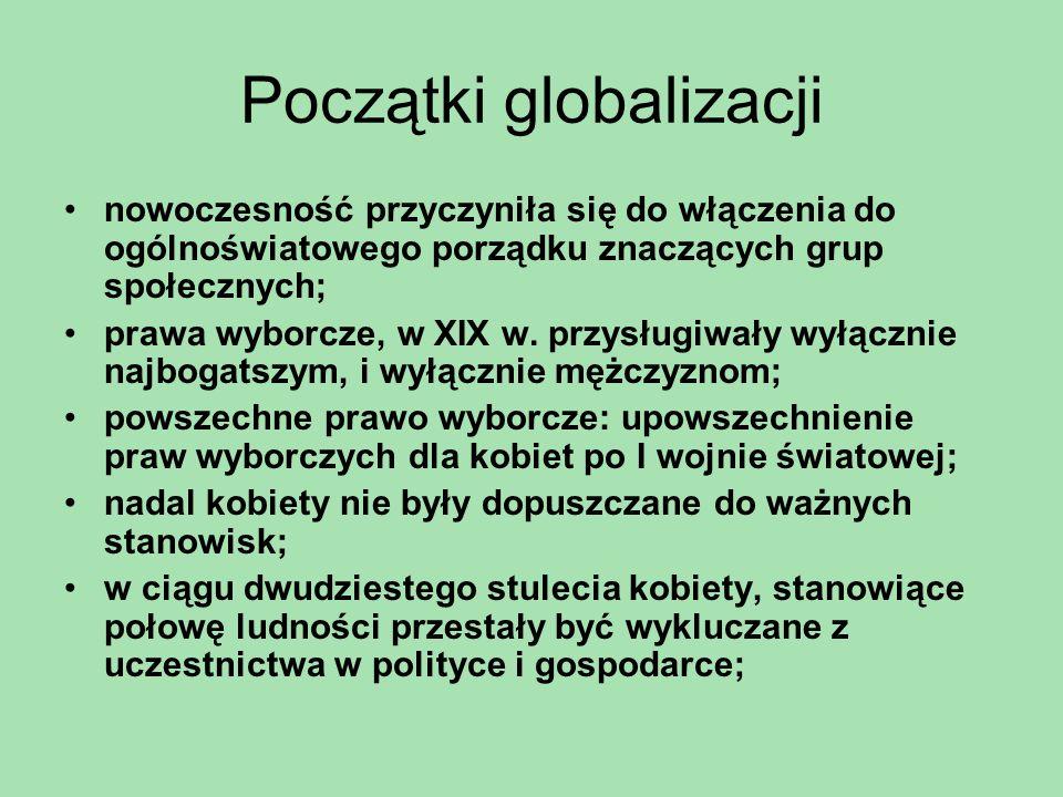 Początki globalizacji
