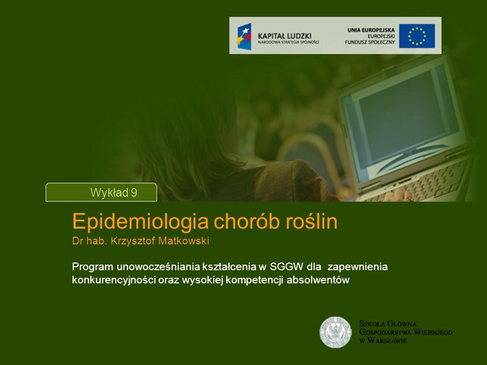 Epidemiologia chorób roślin