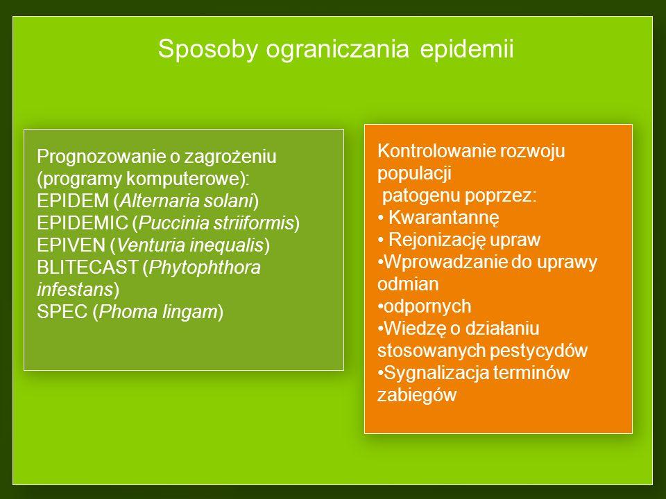 Sposoby ograniczania epidemii