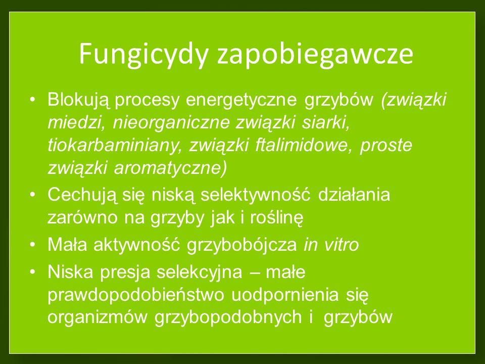 Fungicydy zapobiegawcze