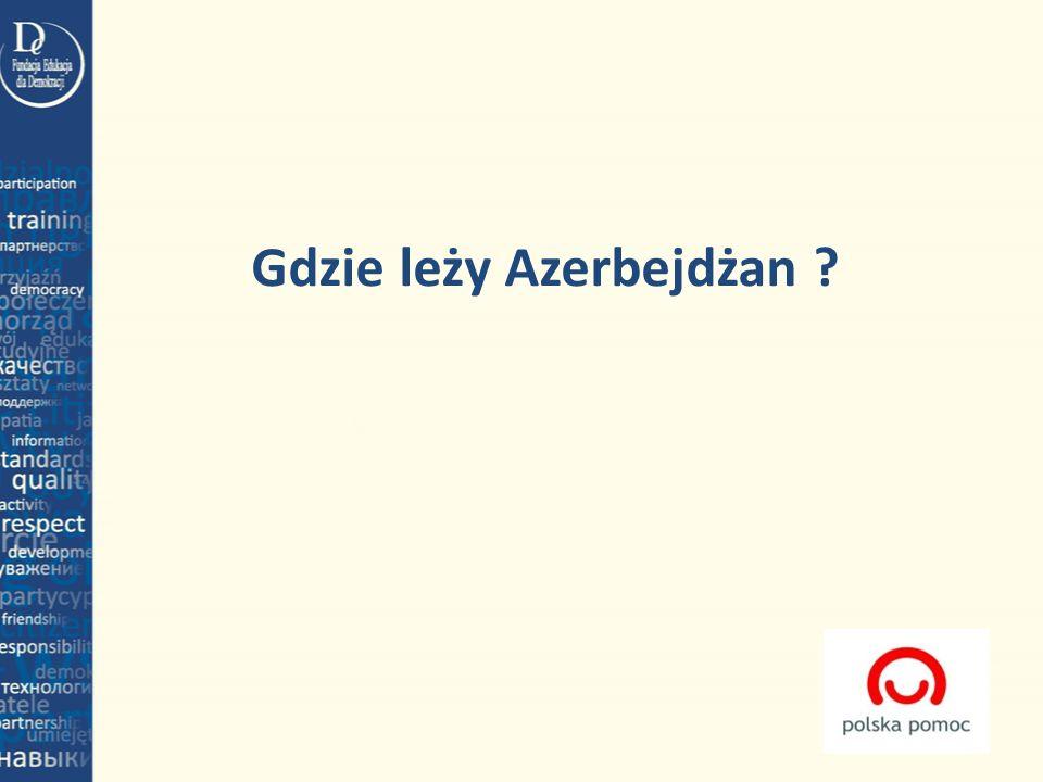 Gdzie leży Azerbejdżan
