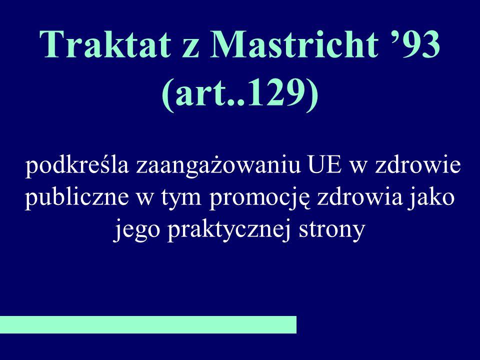 Traktat z Mastricht '93 (art