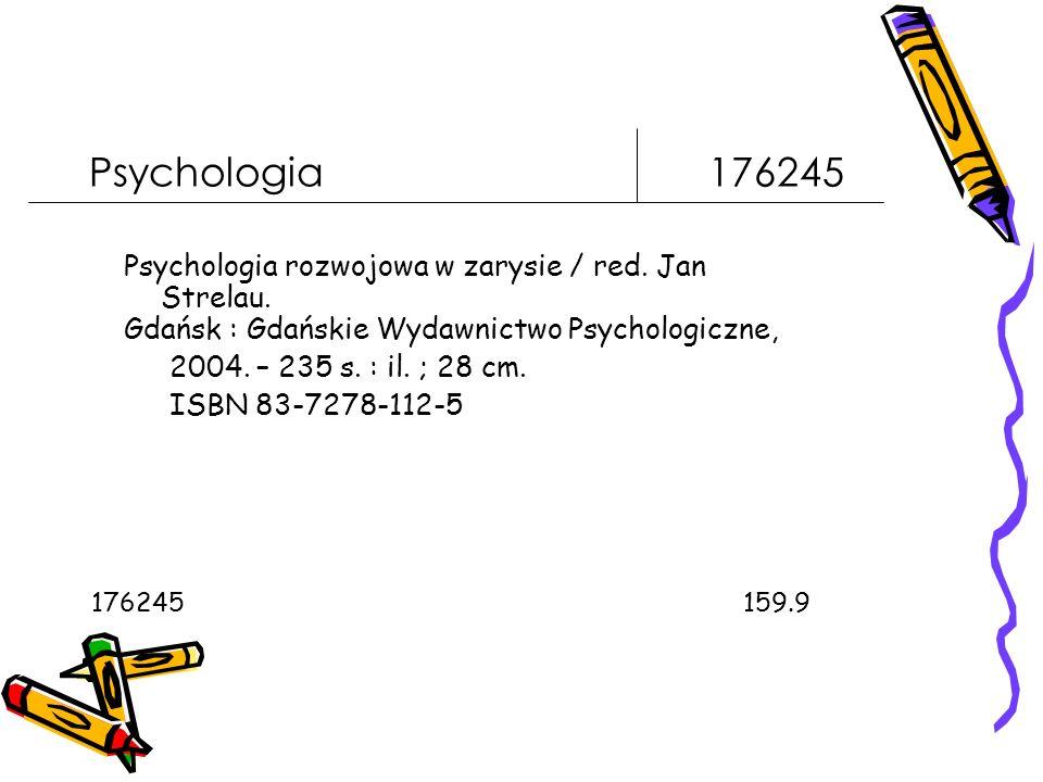 Psychologia 176245