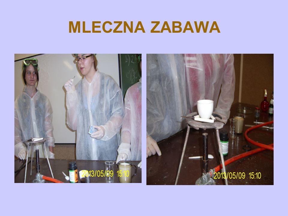 MLECZNA ZABAWA