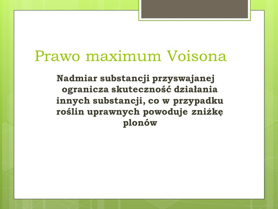 Prawo maximum Voisona