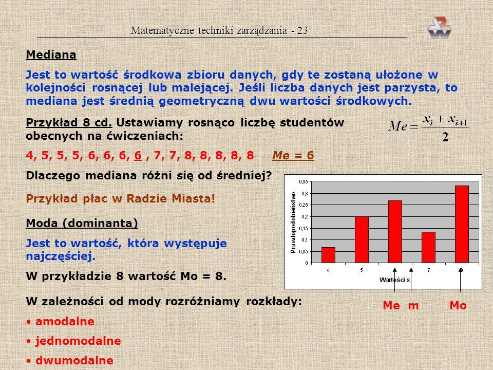 Matematyczne techniki zarządzania - 23