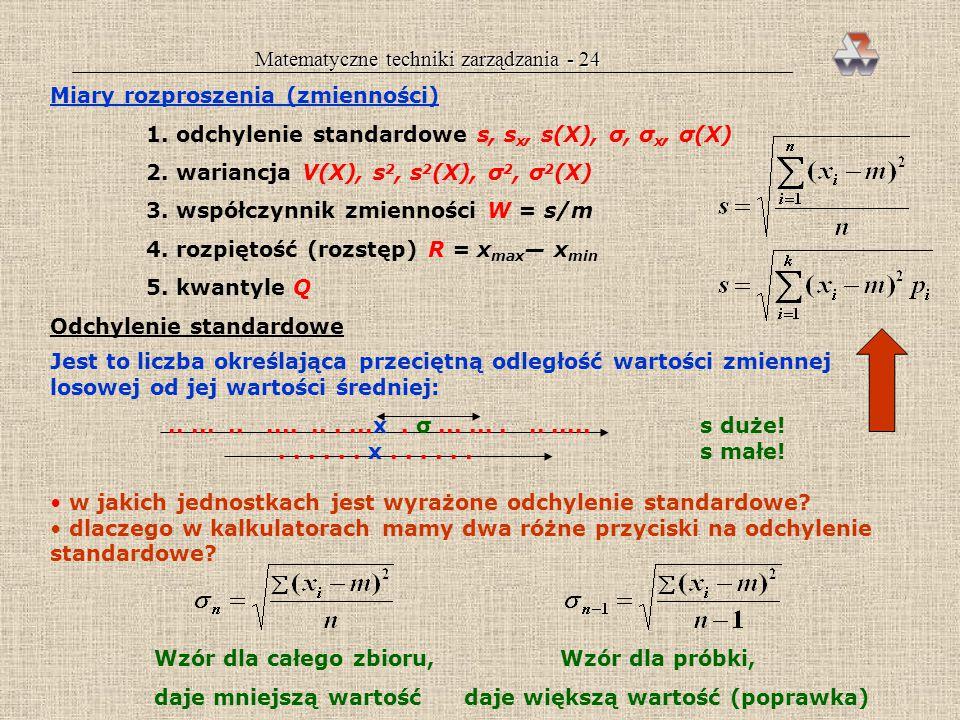 Matematyczne techniki zarządzania - 24