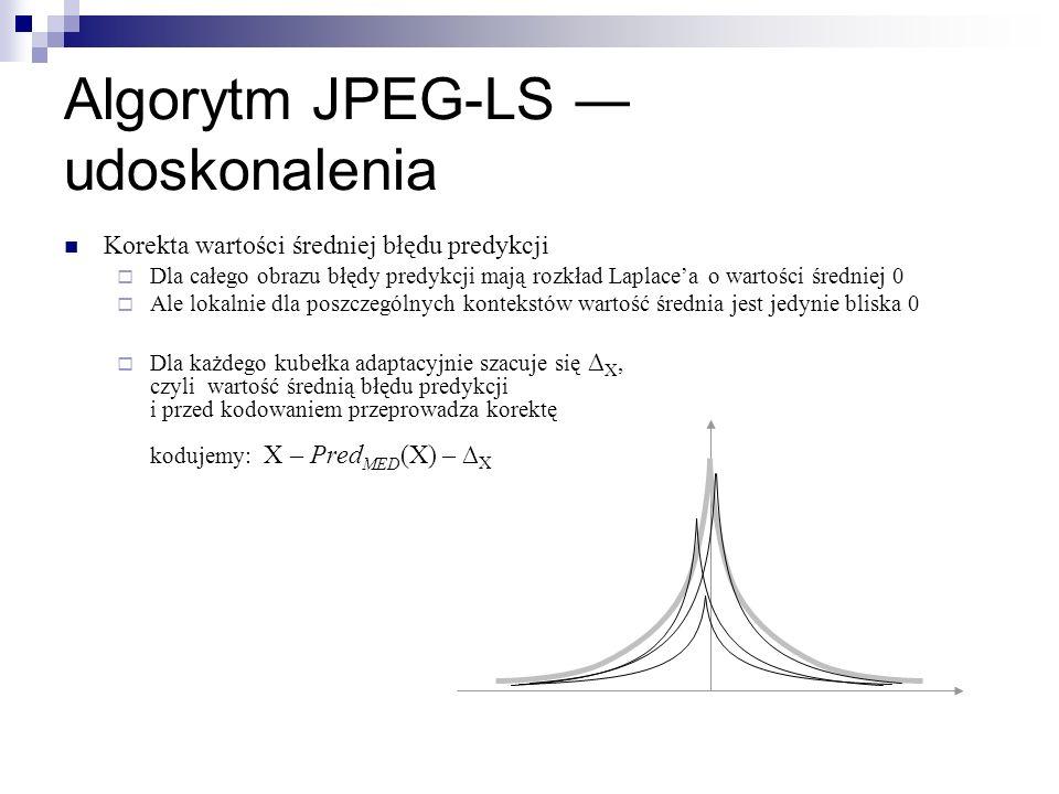 Algorytm JPEG-LS ― udoskonalenia