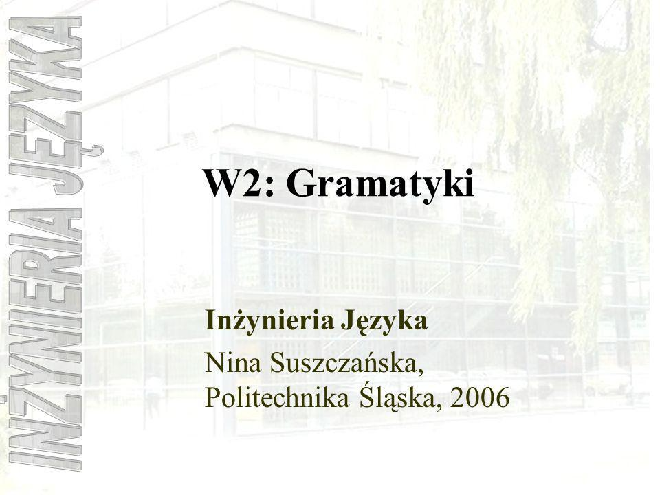 Inżynieria Języka Nina Suszczańska, Politechnika Śląska, 2006