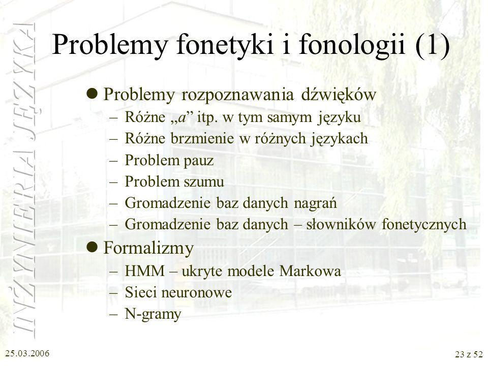 Problemy fonetyki i fonologii (1)