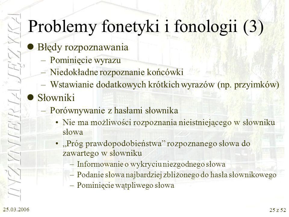 Problemy fonetyki i fonologii (3)